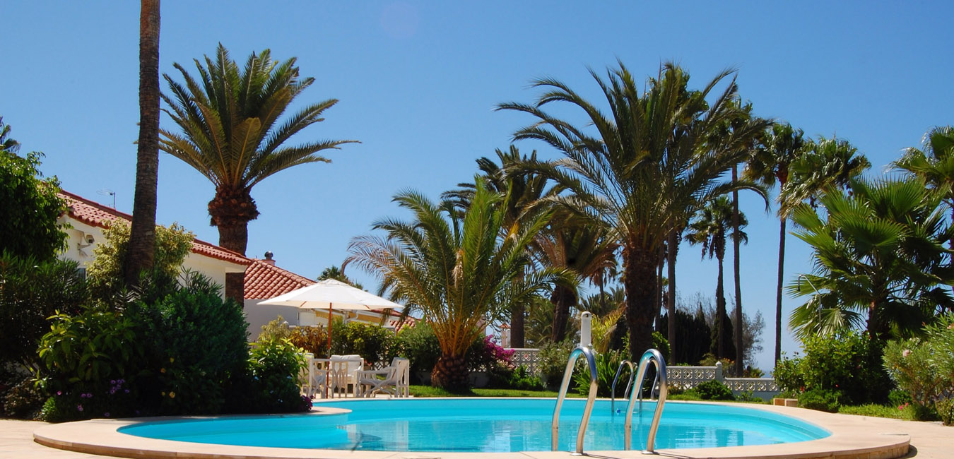 100 bungalows gran canaria aqua beach bungalows for Bungalows jardin del sol gran canaria